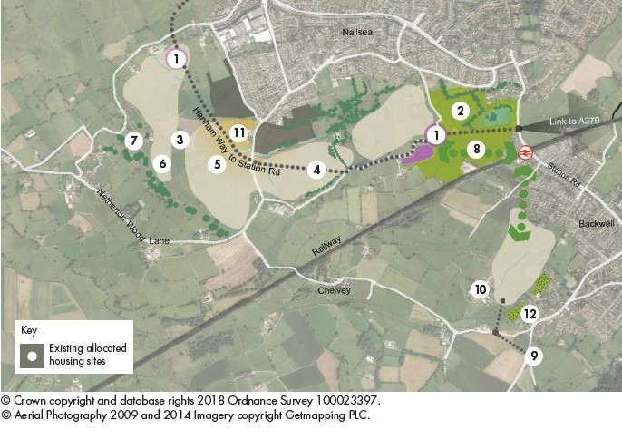 Nailsea and Backwell Concept Diagram